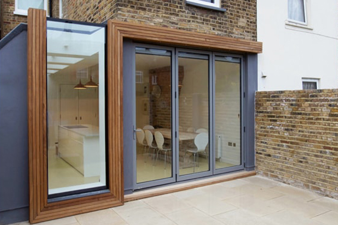 midos bi-fold door wood