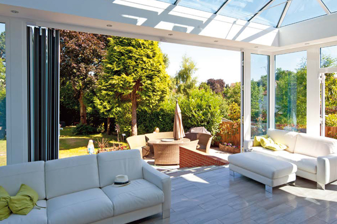 midos bi-fold door terrace
