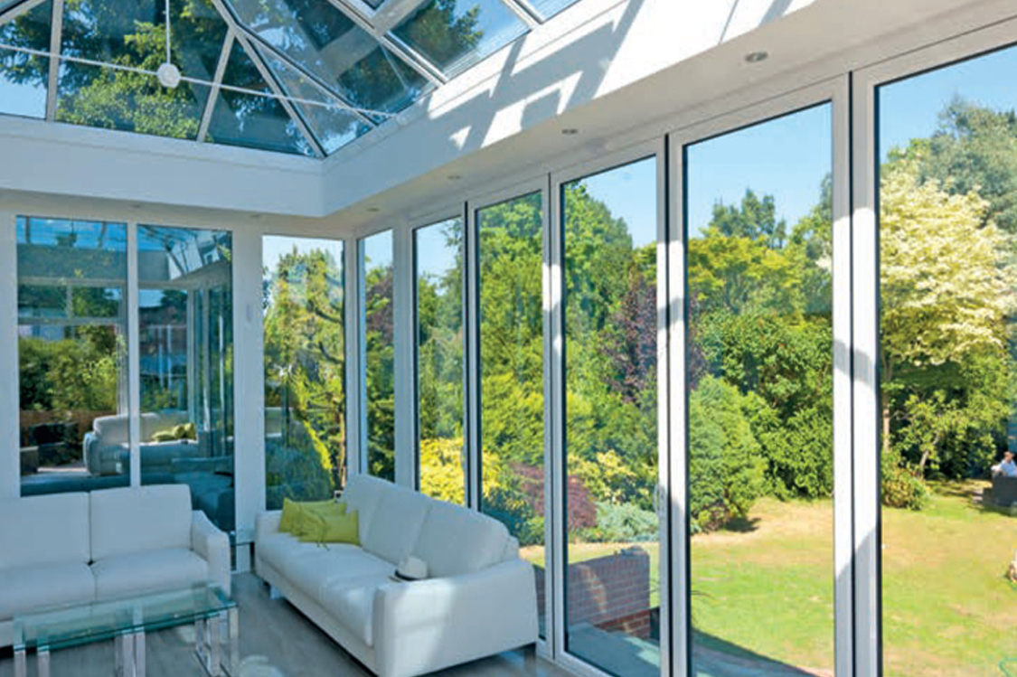 midos bi-fold door white