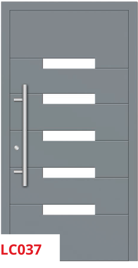 midos panel door grey 037