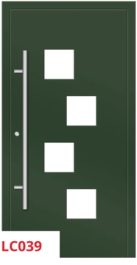 midos panel door green cude dark