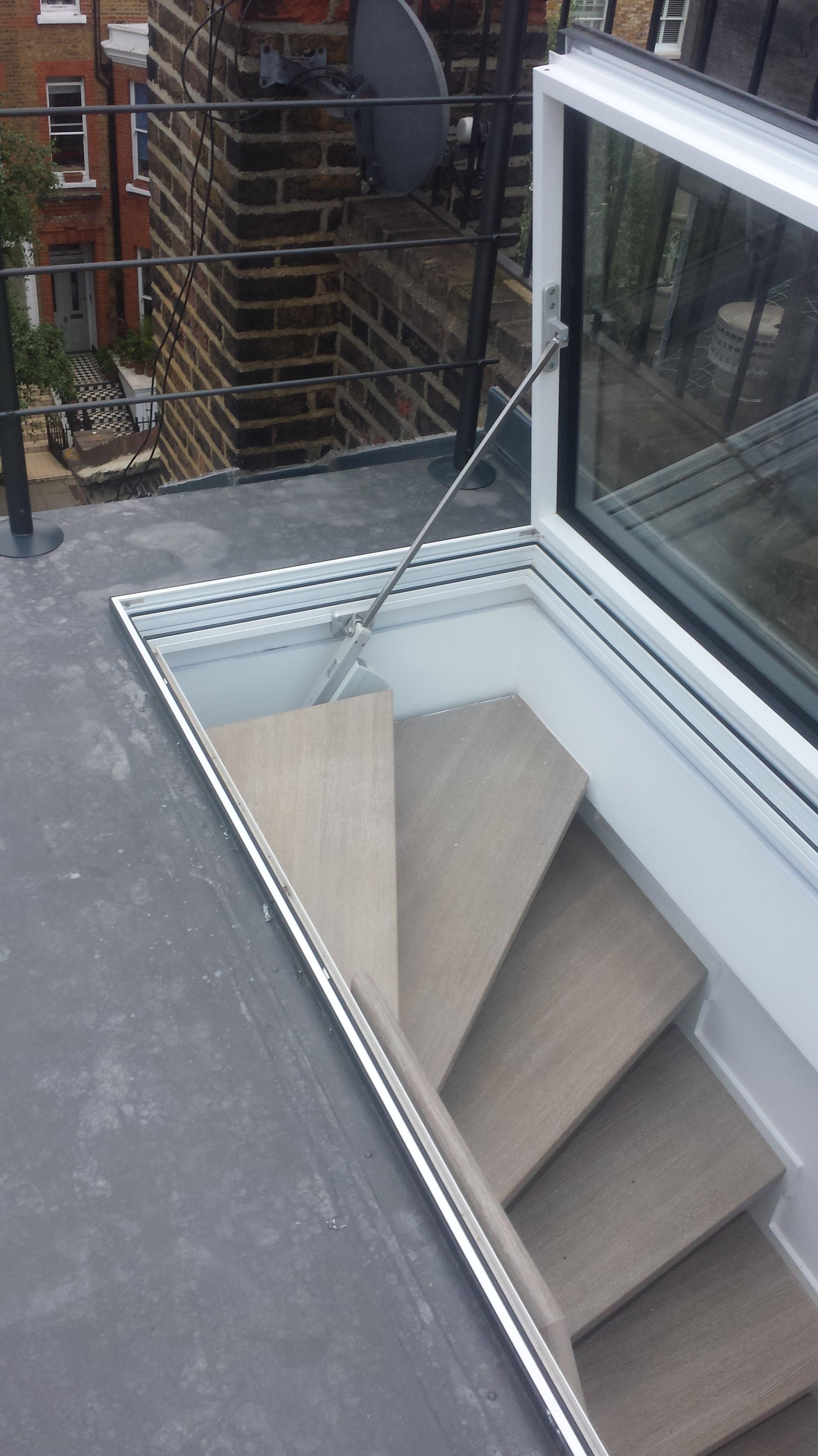 midos rooflights outside window