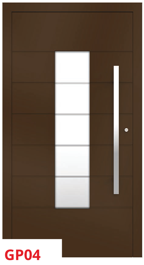 midos panel door brown