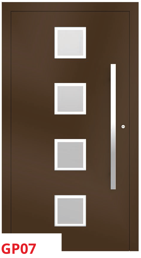 midos panel door brown dark
