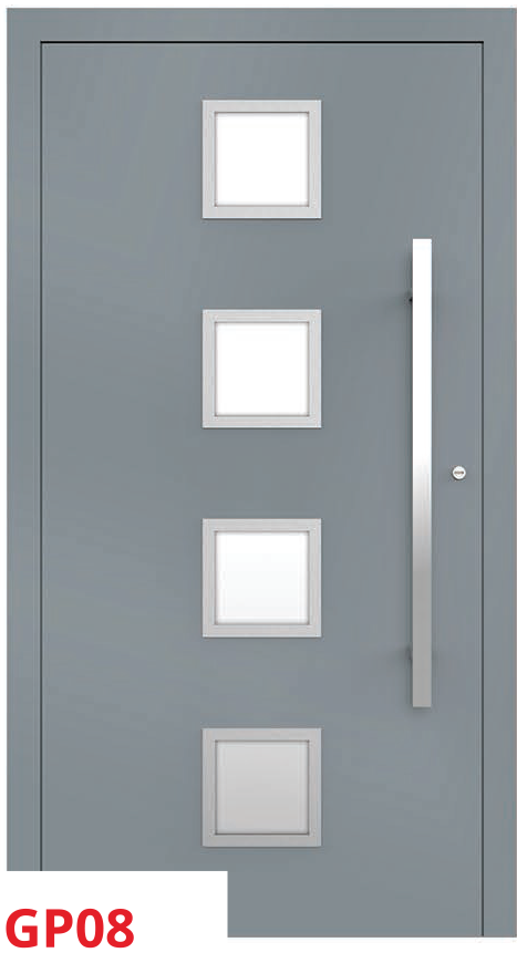 midos panel door gery cube