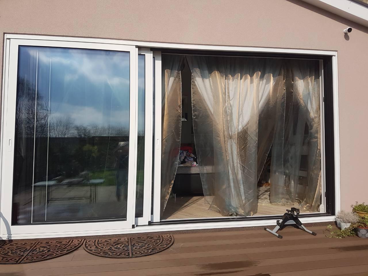 midos slide doors outside