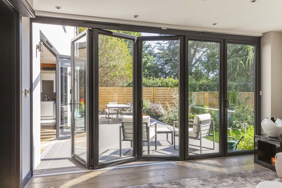 midos doors bi-fold house