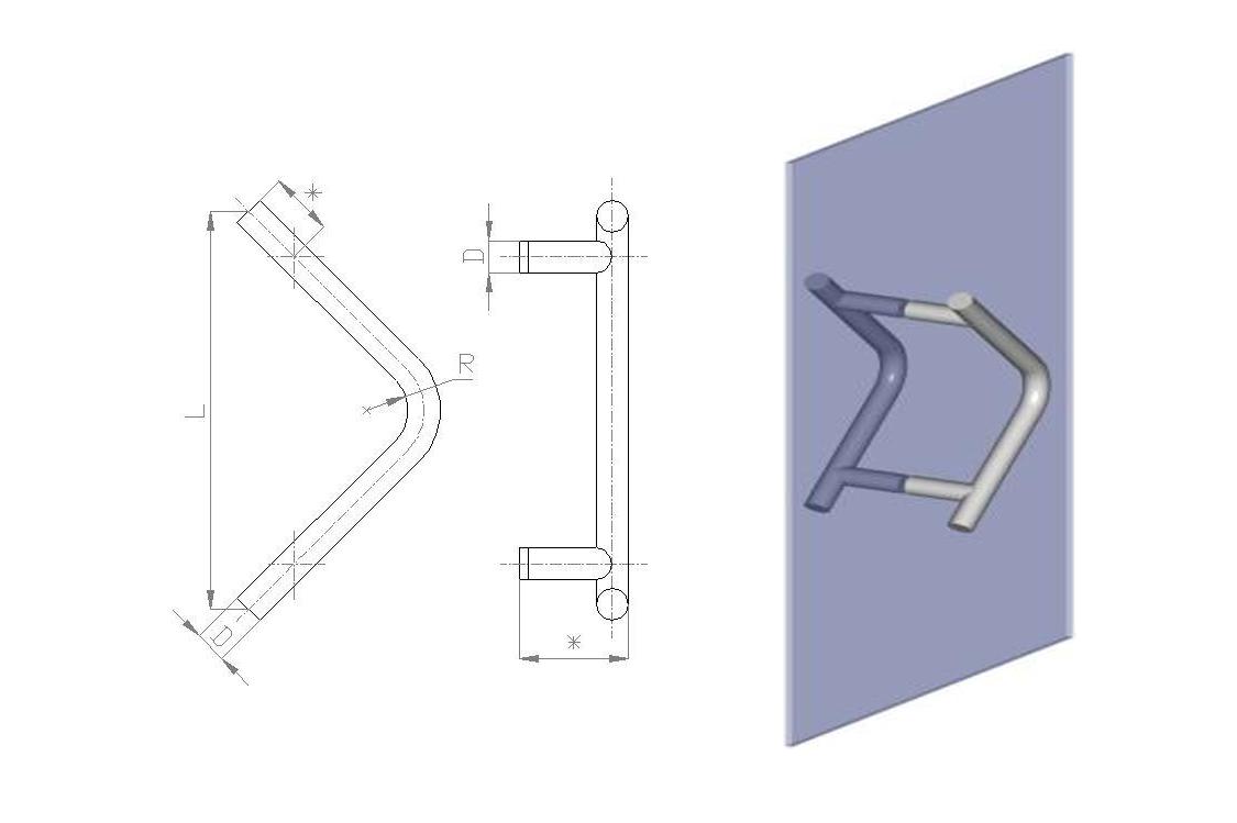 upvc doors heandle scheme3